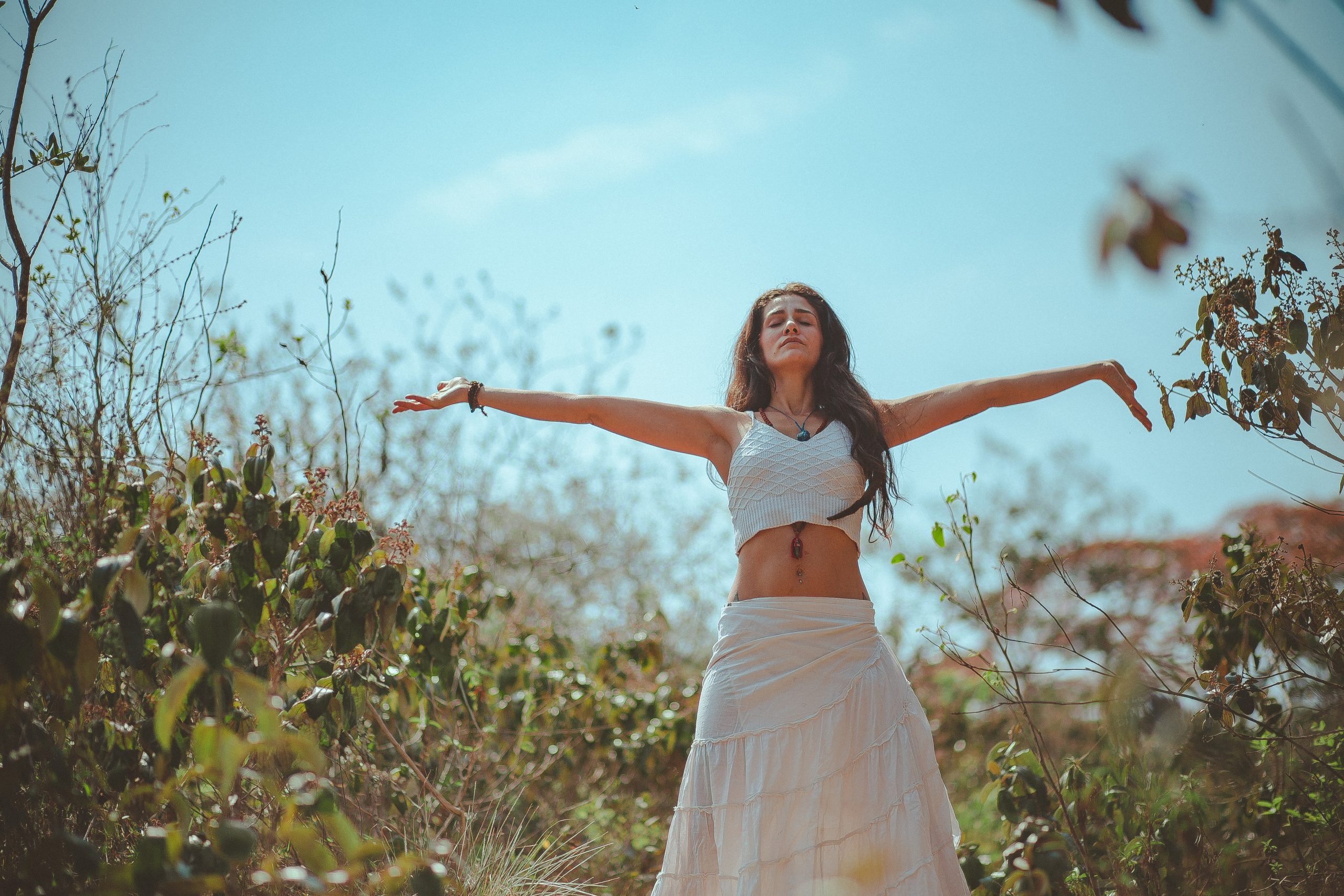 Yoga via de Skulp