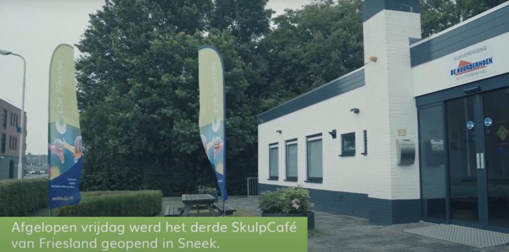 Skulp Café opening Sneek
